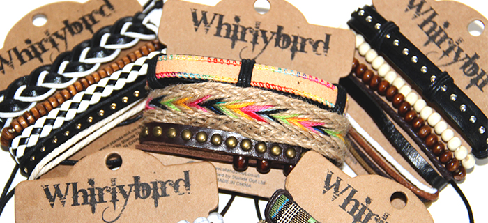 Whirly Bird Armbanden