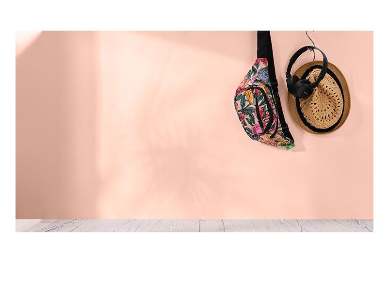 Eco Chic - Foldable Bum Bag (heuptas)