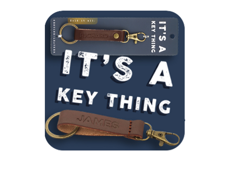 It's a key thing - sleutelhangers