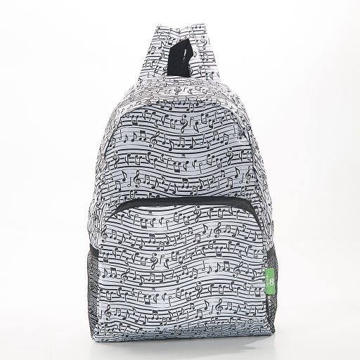 Eco Chic - Backpack - B10WT - White Music