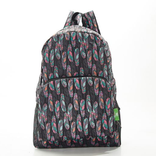Eco Chic - Backpack - B21BK - Black Feather