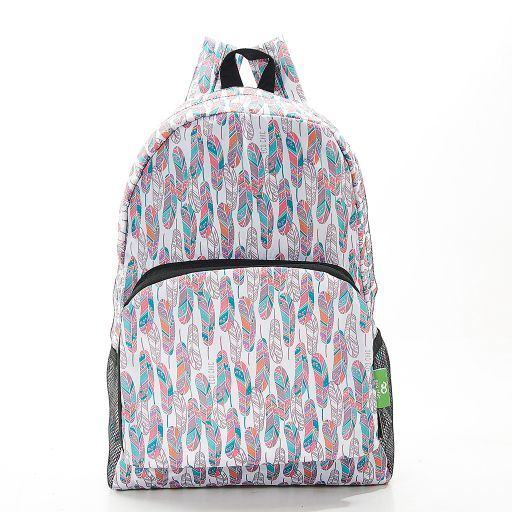 Eco Chic - Backpack - B21WT - White Feather