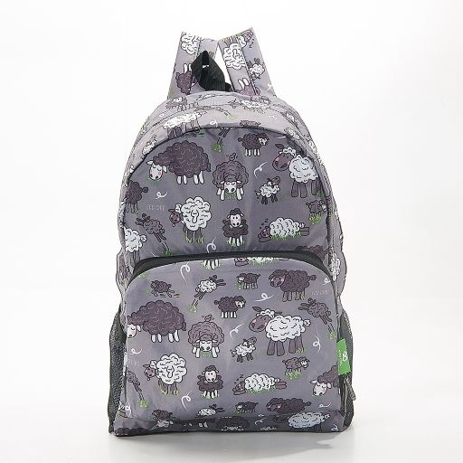 Eco Chic - Backpack - B26GY - Grey Sheep