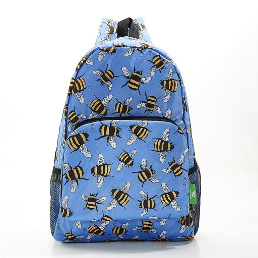 Eco Chic - Backpack - B28BU - Blue Bees