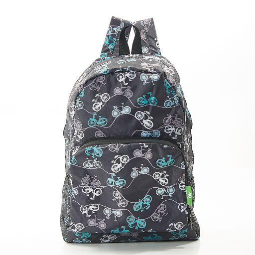 Eco Chic - Backpack - B30BK - Black Bike