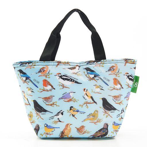 Eco Chic - Cool Lunch Bag - C17BU - Blue Wild Birds