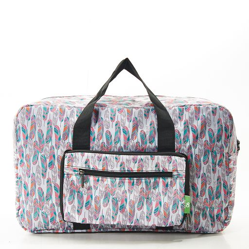 Eco Chic - Foldable Holdall (weekendtas) - D19WT - White - Feather