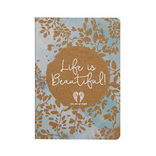 You are an Angel - Notitieboekje (l) - Life is beautiful