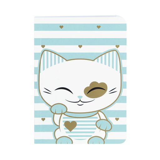 Mani the Lucky Cat - MS032 - Notitieboek S -
