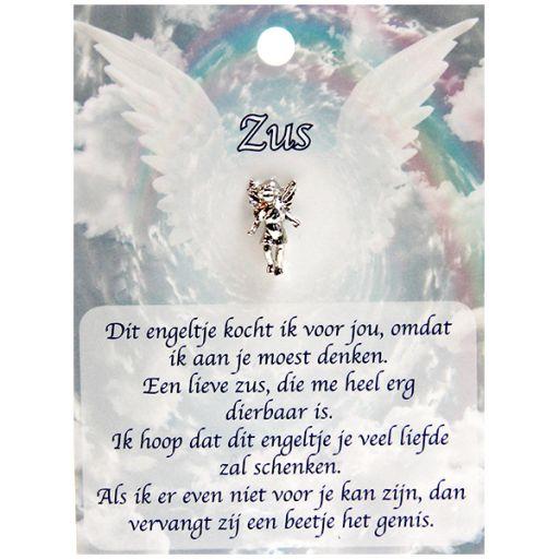 Dierbare engel op pin - Zus
