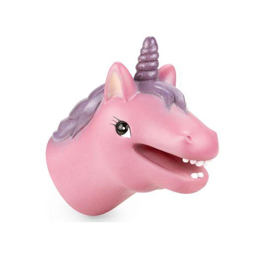 Animal Hand Puppet - Unicorn (roze)