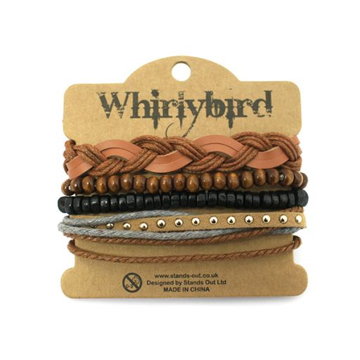 Whirly Bird armbanden set S1