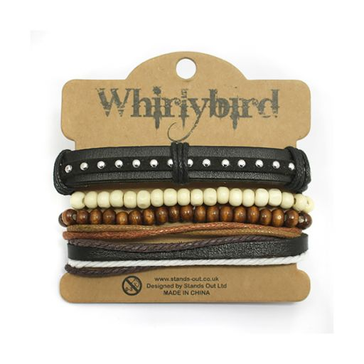 Whirly Bird armbanden set S4