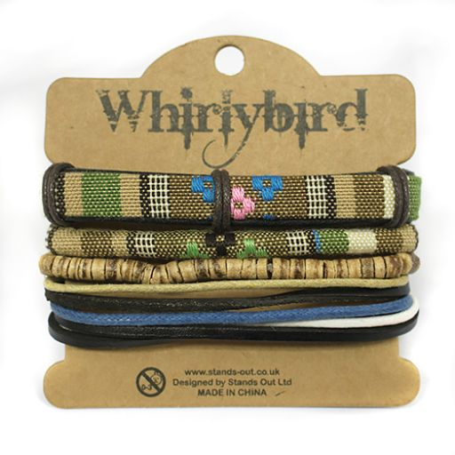 Whirly Bird armbanden set S5