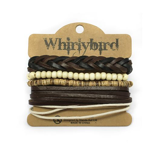 Whirly Bird armbanden set S10