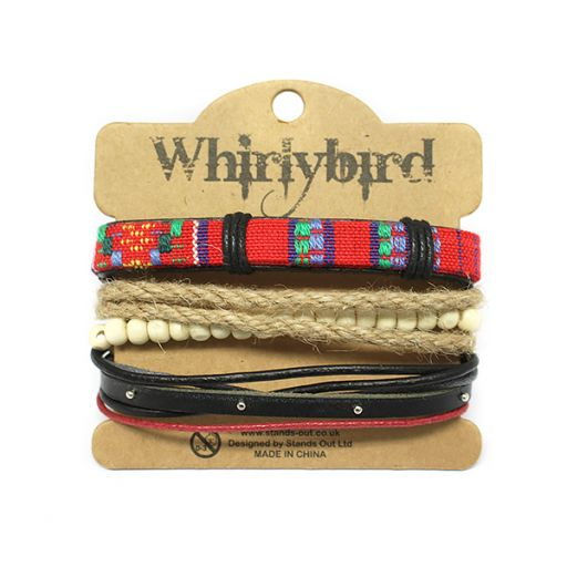 Whirly Bird armbanden set S12