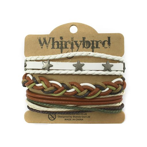 Whirly Bird armbanden set S14