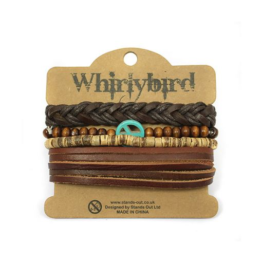 Whirly Bird armbanden set S20