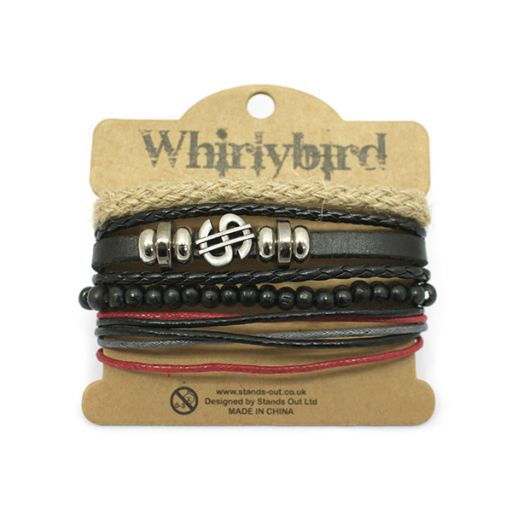 Whirly Bird armband S39