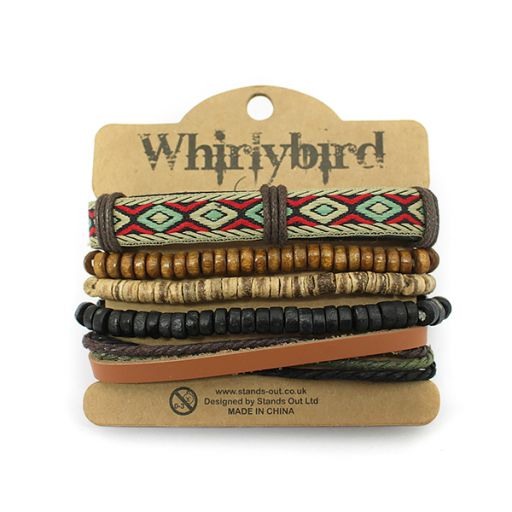 Whirly Bird armband S43