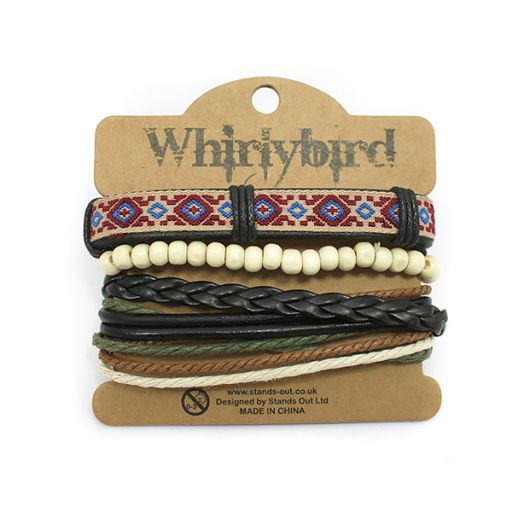 Whirly Bird armband S48