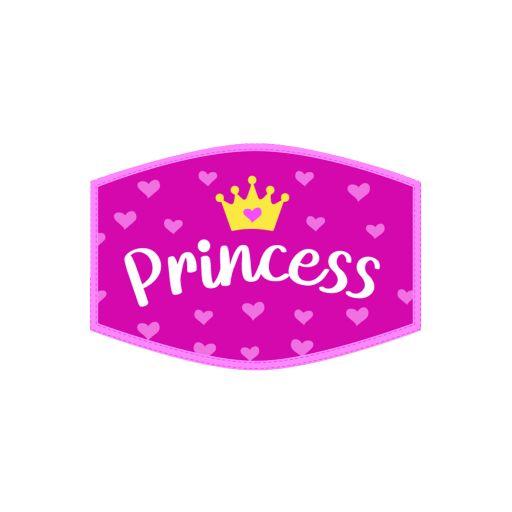 Mondkapje - Kind - Princess Crown