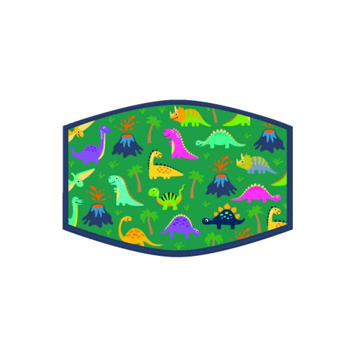 Mondkapje - Kind - Dinosaurus