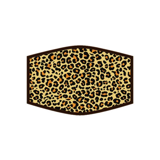 Mondkapje - Leopard