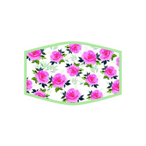 Mondkapje - Floral White