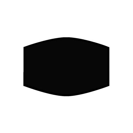Mondkapje - Black