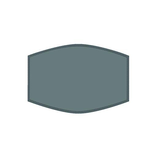 Mondkapje - Charcoals Plain