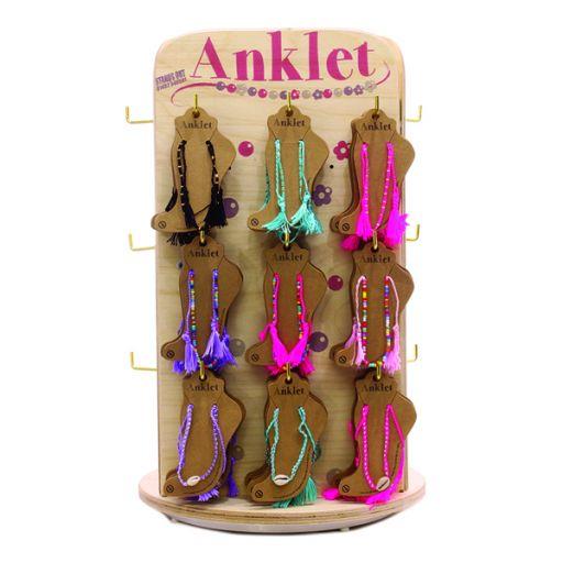 Toonbank display gevuld ALOHA enkelbandjes