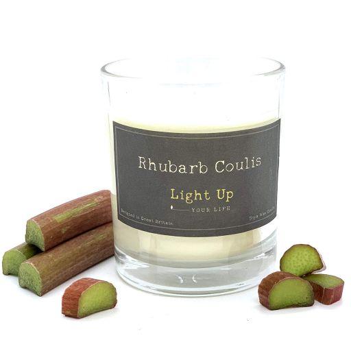Light Up kaars - Rhubarb Coulis (rabarber)