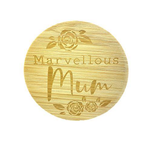 Bamboe deksel - Marvellous Mum