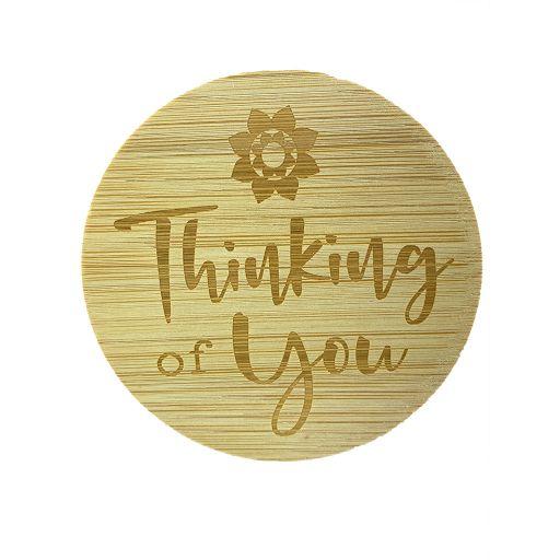 Bamboe deksel - Thinking of You