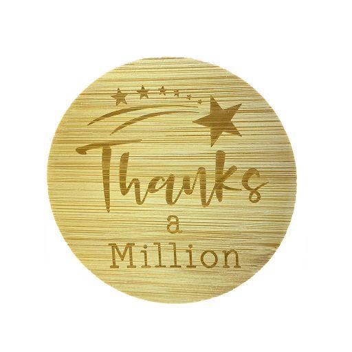 Bamboe deksel - Thanks a Million