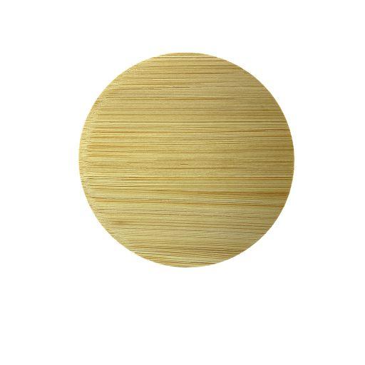 Bamboe deksel zonder tekst