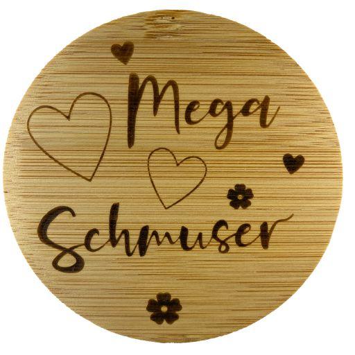 Bambus Deckel - Mega-Schmuser