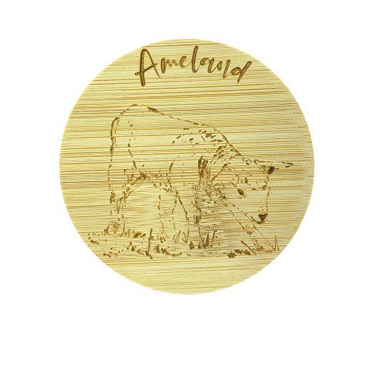 Bamboe deksel - Ameland - Schaap