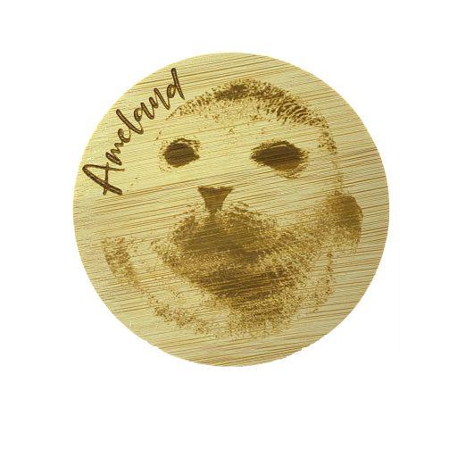 Bamboe deksel - Ameland - Zeehond