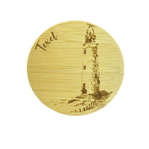Bamboe deksel - Texel - Vuurtoren