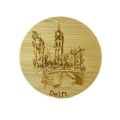 Bamboe deksel - Delft - Olde Kerk
