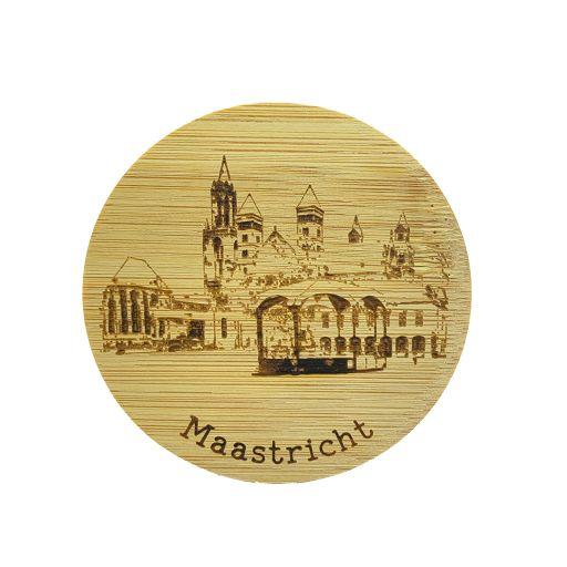 Bamboe deksel - Maastricht - Het Vrijthof