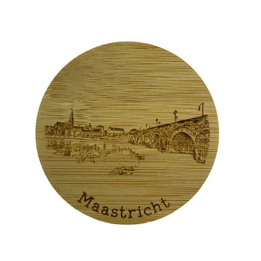 Bamboe deksel - Maastricht - Servaasbrug
