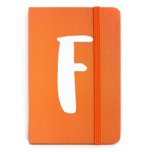 Notebook I saw this - letter F