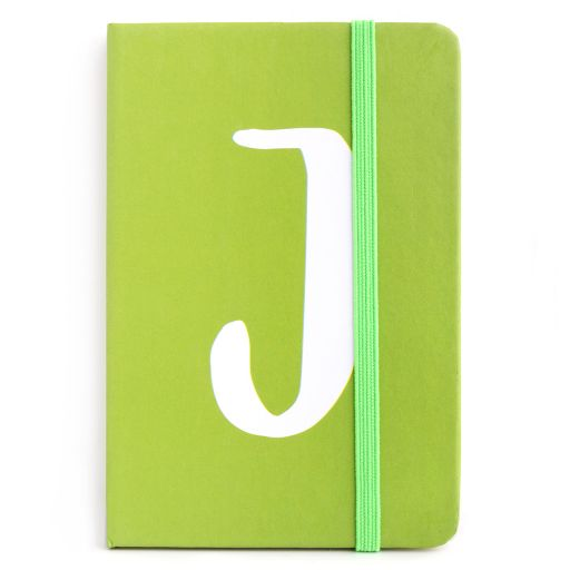 Notebook I saw this - letter I