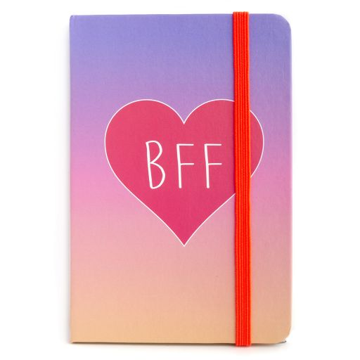 730034 - Notebook I saw this - BFF Heart