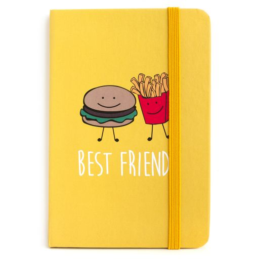 730036 - Notebook I saw this - best friend, burger & frites