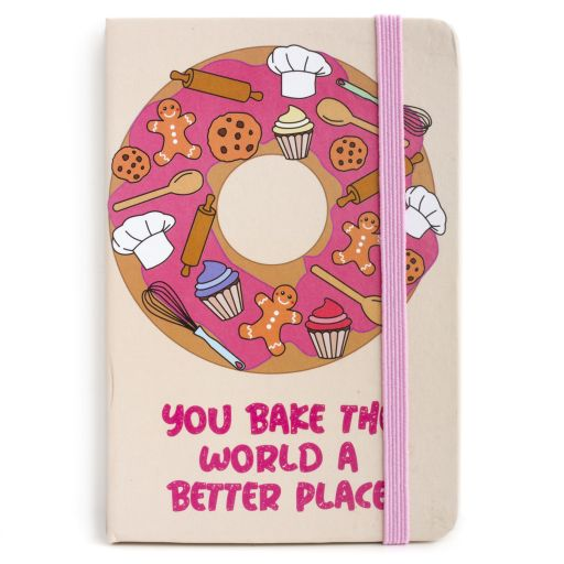 Notebook I saw this - Baking