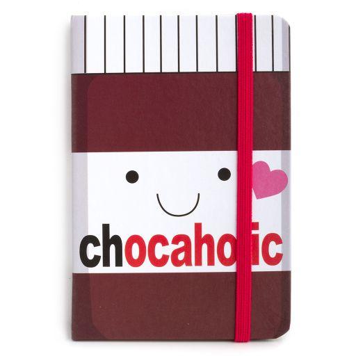 Notebook I saw this - Chocoholic (